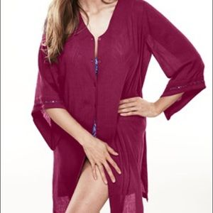 Other - ➕ New Plus Size Gauze Coverup